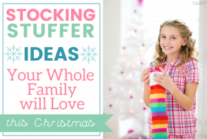 Smart Living Mama - Blog Post Featured Image - Affordable Stocking Stuffers the Whole Family Will Love