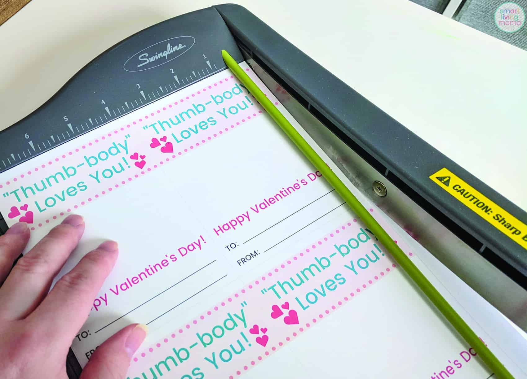 Smart Living Mama Cutting Card Template with Paper Cutter