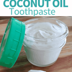 Natural Homemade Coconut Oil Toothpaste